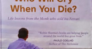 Free Download Who Will Cry When You Die Novel Pdf